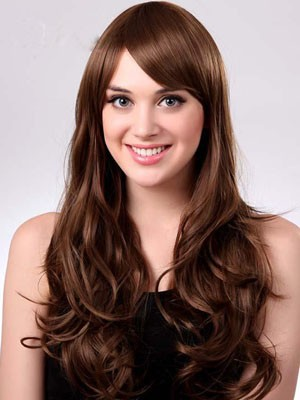 Wavy Capless Polished Long Synthetic Wig - Image 1