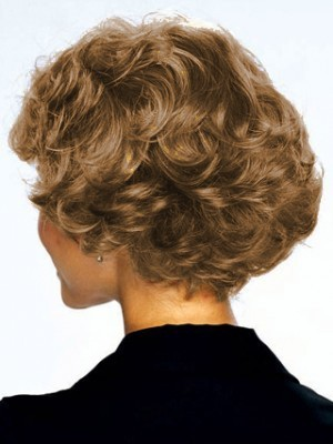 Human Hair Short Curly Nice Lace Front Wig - Image 2