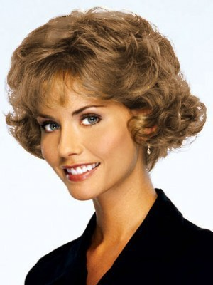 Human Hair Short Curly Nice Lace Front Wig - Image 1