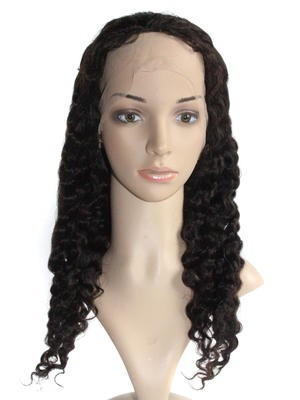 Synthetic Full Lace Curly African American Wig - Image 2