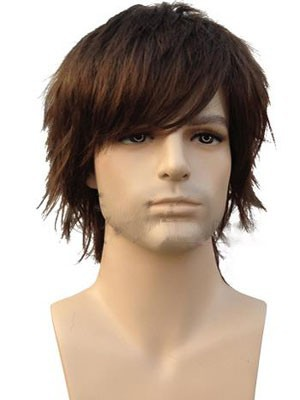 Human Hair Straight Attractive Capless Wig - Image 1