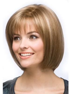 Bob Style Graceful Lace Front Human Hair Wig - Image 2