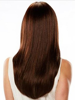 Straight Human Hair Lace Wig For Woman - Image 3