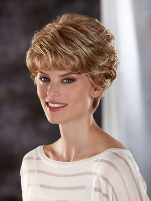 Lace Front All Over Wavy Charming Synthetic Wig - Image 2