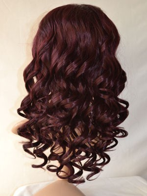 Synthetic Wavy Pretty Lace Front Wig - Image 4
